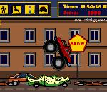 Онлайн игра Monster Truck Curfew.