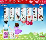 Онлайн игра Golf Solitaire First Love.