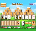 Онлайн игра Castle solitaire.