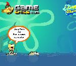 Онлайн игра SpongeBob Incredible Jumping.