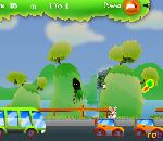Онлайн игра Flying Rabbit.