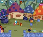 Онлайн игра The Smurfs Adventure.
