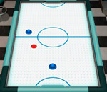 Онлайн игра Air Hockey 3D.