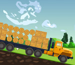 Онлайн игра 10 Wheeler crazy FREIGHT.