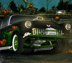 Онлайн игра Halloween Graveyard Racing.