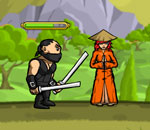 Онлайн игра Ninja And Blind Girl 2.