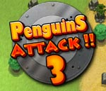 Онлайн игра Penguins attack 3.