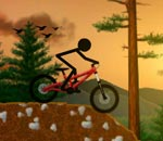 Онлайн игра Stickman Dirtbike.