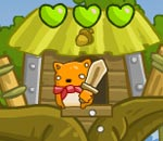 Онлайн игра Treehouse Hero.