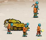 Онлайн игра Tank Rage In Zombie City.