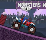 Онлайн игра Monsters Wheels.
