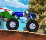 Онлайн игра Monster Truck Assault.