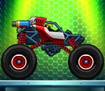 Онлайн игра Monsters' Wheels 2.