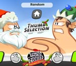 Онлайн игра Thumb Fighter: Christmas Edition.